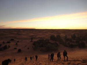 Good morning Sahara Desert!  One of the most beautiful things I have seen.