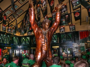 Admitting now that this isn't my picture.  But this is the monument of the Unknown Whiskey Drinker.