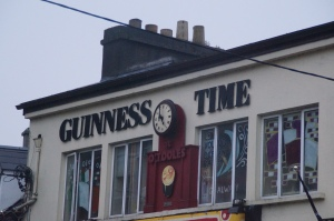 In Ireland it's ALWAYS Guinness time.