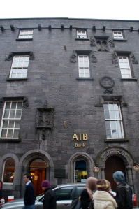 Galway Castle...now a bank.  Gentrification everyone!