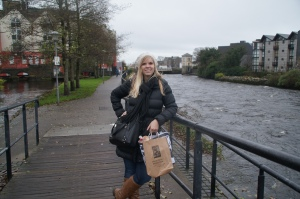 Casual riverside picture in Galway!