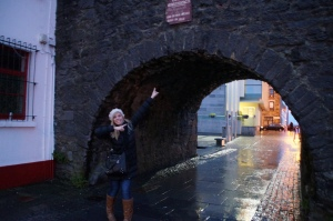 Found some Spain in Galway!  This is the Spanish Arch.  Here is where Spanish ships loaded and unloaded goods for trade!