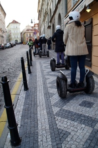 WATCH OUT.  Death by Segway was very possible.  Plus, how touristy?