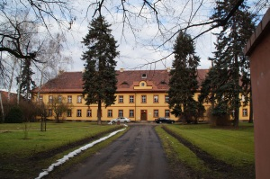 The officers housing.  Many officers had their families living with them while they served in Terezin.