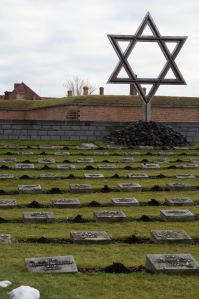 This is where the bodies of the mass graves are buried.  It is in front of the Small Fortress.