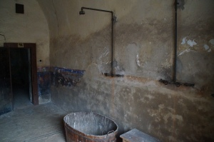 """Showers that were used to either wake up an unconscious person before their beating, or to """"clean"""" them up after their beating before they were returned back into their solitary confinement."""