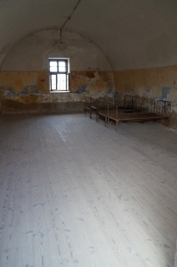 """The """"hospital.""""  Yep, those are the original beds.  So no one was really sent here unless you were truly truly sick."""