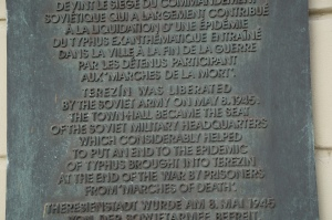 A little blurb about the liberation of the camp.