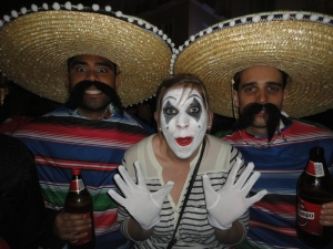 Mexicans and the Mime