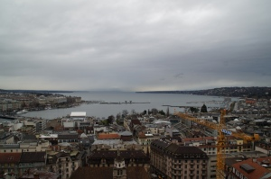 The view from the two towers of the Church.
