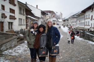 Three lovely ladies hanging in Switzerland!