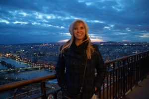 The view of the Seine river from the middle!