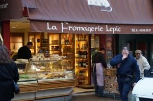 French cheesemongers.  HEAVEN.