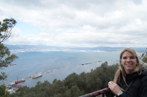 HELLLOOOO SPAIN!  The view from St. Michael's Cave.