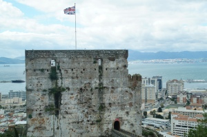 This is the castle of Gibraltar.  Fun fact:  It was designed and built by the same guy who designed the Alhambra in Granda...What happened here?