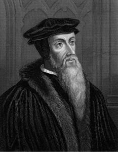 Da man, John Calvin.