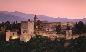 OK, the Alhambra located in Granada...I'm not judging but we can OBVIOUSLY tell which building was the favorite.