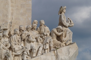 I decided this is Christopher Columbus...when really it is monument for ALL the explorers of Portugal.
