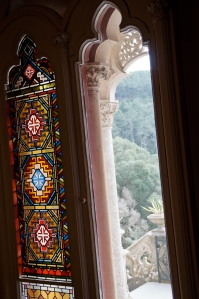 Original stain glass windows in the- I mean MY- concert room.