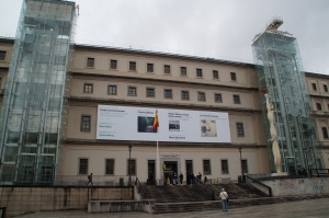 La museo Riena Sofia.  In here is some great contemporary art.  There of course is Picasso and my new favorite Dalí