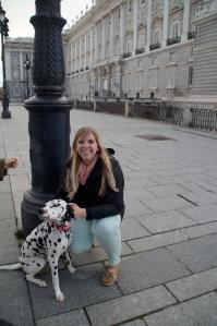 "While taking a picture a man stopped us and said. ""Saca una foto con mi perrito!""  So we did."