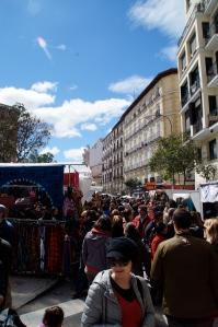 El Rostro, the giant flee market.