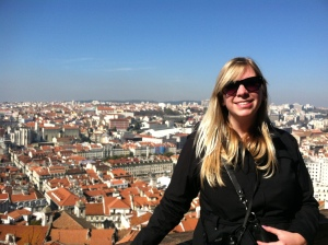 The view from the top of St. Jorge's Castle.  Pretty sweet.