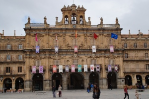 Plaza Mayor.  Where we took advantage of our people watching skills.