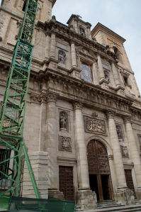 La Iglesia de los Jesuitas.  The Jesuit church.