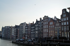 Views of the houses along the canals.