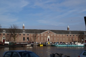 The Hermitage where the Van Gogh Museum is currently located.