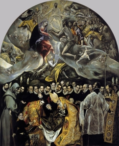 Where's El Greco?  Seriously...he is in this painting.