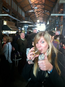 Loving the market.  Literally eating my way through it.