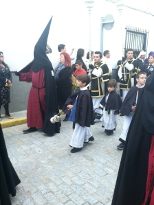 Many of my students were involved with these processions.