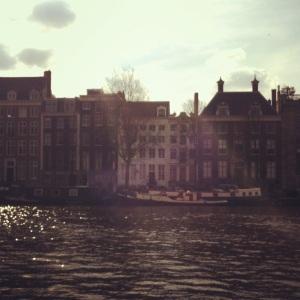 Sunshine along the canal.