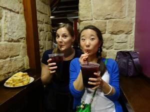 Copious amounts of tinto de verano with dinner?  Totally fine.  If anything you should be drinking two of those!