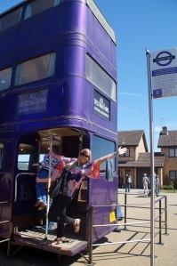 Just catching a ride on the Knightbus!
