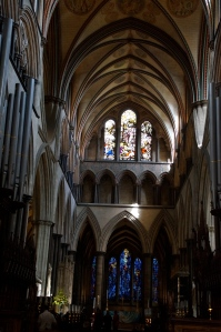 Inside the gorgeous cathedral.
