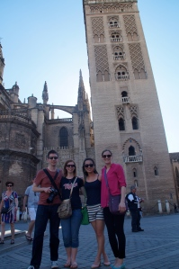 We love the Giralda at the Cathedral in Sevilla!