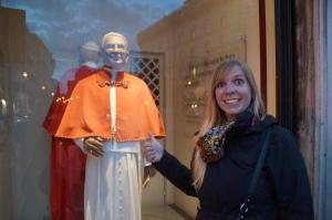 Sadly we didn't see the pope...Papa Fran nor Papa Juan.