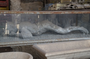 This is the most famous body.  This woman was pregnant when she died.