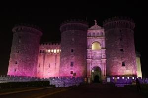 The castle of Naples