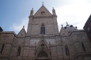 Duomo di Napoli.  The biggest cathedral in Naples.