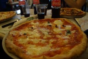 A true Napoli pizza.