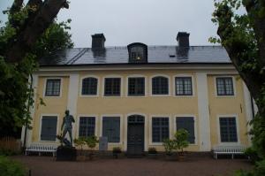 Linnaeus' house in Uppsala.