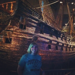 Gotta have the pic with the Vasa boat and the GAC shirt.