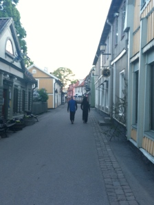 Any small Minnesotan town?  Henderson?  Stillwater?  Nope, the town of Sigtuna.