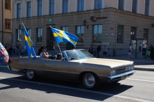 Is it the 4th of July?  What?  Nooooo, it's the 6th of June, National Sweden Day!