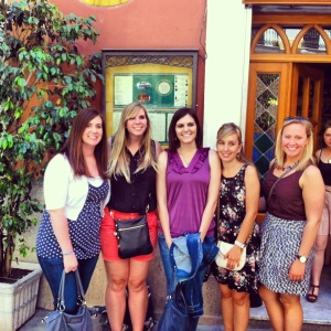 More awesome chicas that I met.  They have helped to create some unforgettable memories!