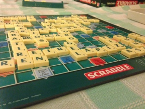 Scrabble is already a tough game (at least in my opinion), try playing it in Spanish...